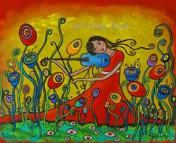 Art: Meadow Song by Artist Juli Cady Ryan