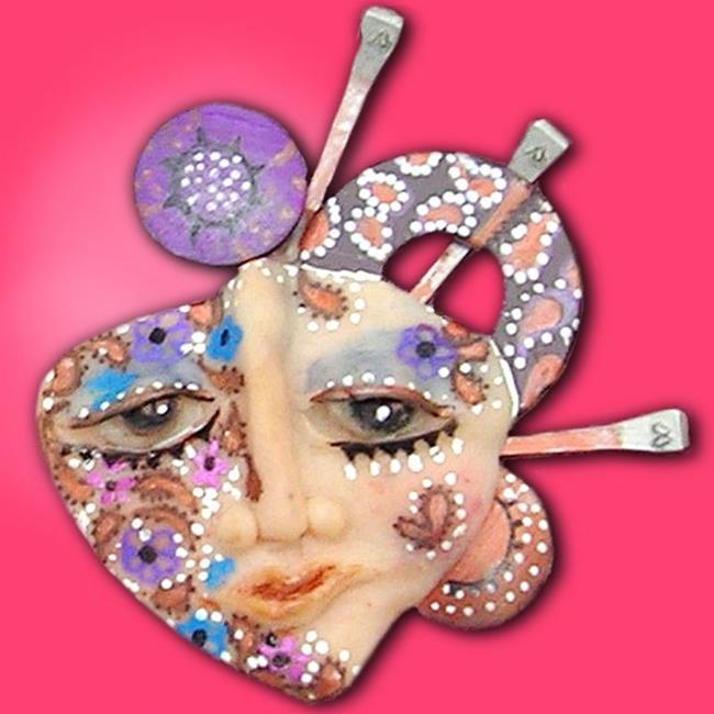 Art: Paisley Princess by Artist Alma Lee