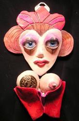 Art: Queen of Hearts by Artist Alma Lee
