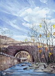 Art: Bancroft Arch by Artist Steve Hamlin