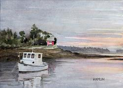 Art: In Quiet Water by Artist Steve Hamlin