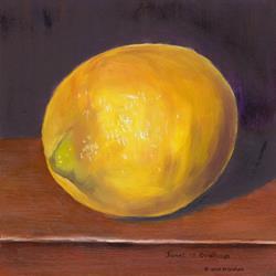 Art: Lemon by Artist Janet M Graham
