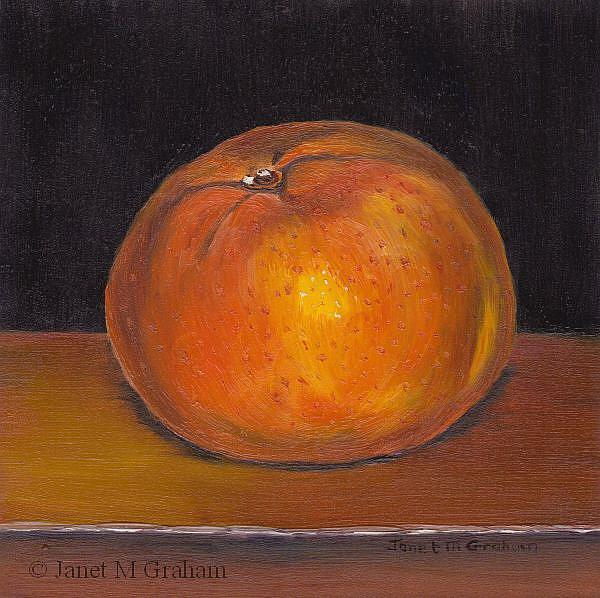 Art: Mandarin by Artist Janet M Graham
