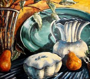 Detail Image for art Pears & Pottery