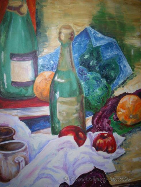 Art: Still Life Rich Colors by Artist Kim Loberg