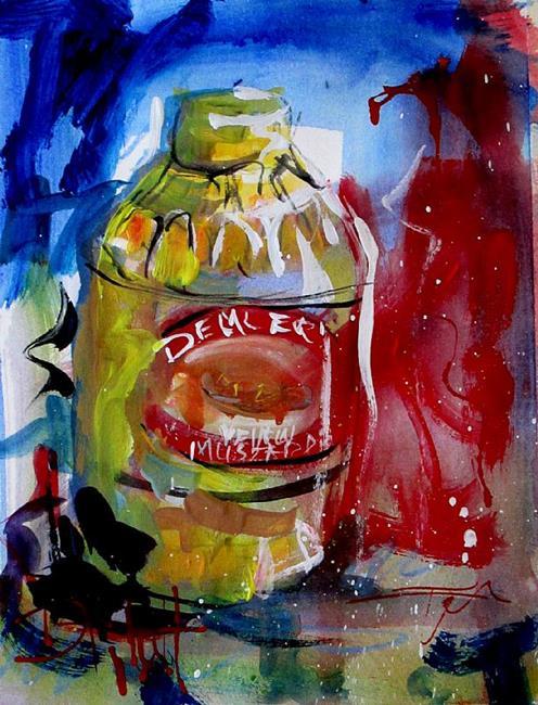 Art: Yellow Mustard by Artist Delilah Smith