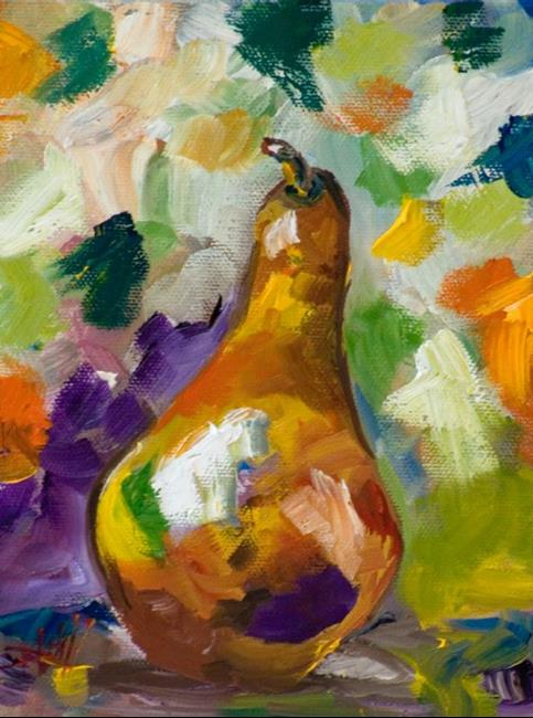 Art: Pear by Artist Delilah Smith