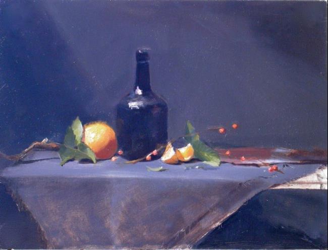 Art: Orange Grande Marnier by Artist Debra Schott