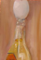 Art: Egg in Your Beer by Artist Delilah Smith