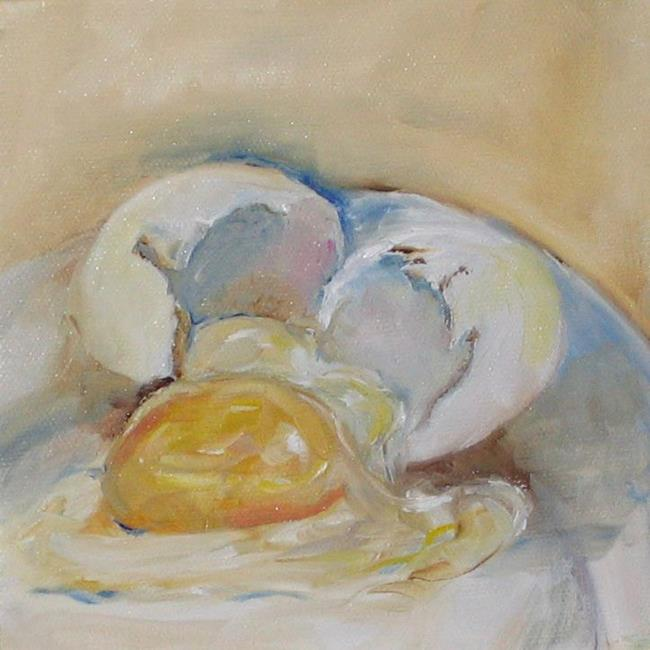 Art: Broken Egg by Artist Delilah Smith