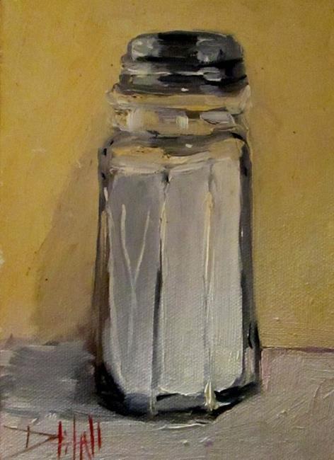 Art: Salt Shaker by Artist Delilah Smith