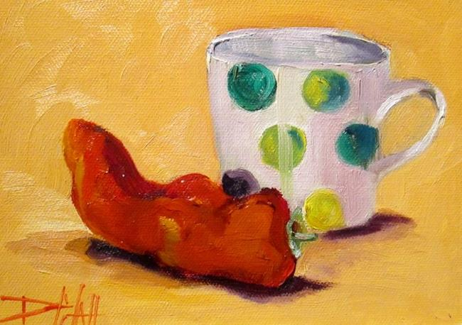 Art: Hot Coffee by Artist Delilah Smith