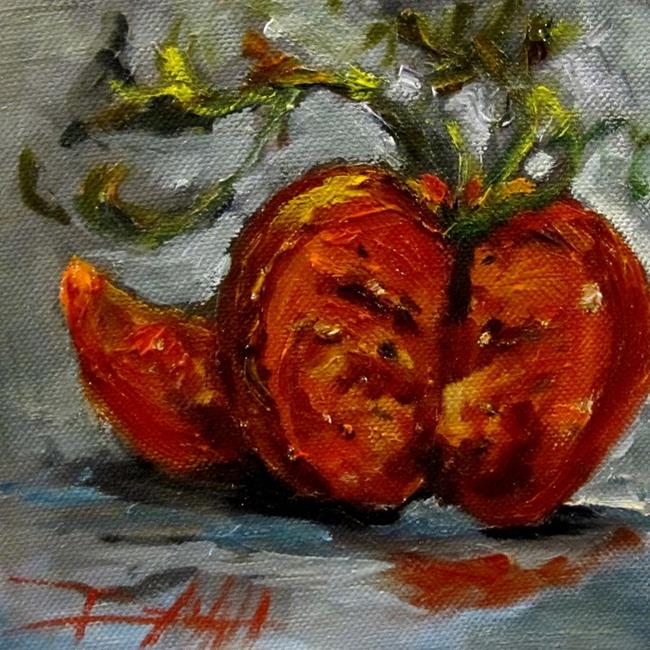 Art: Red Tomato-sold by Artist Delilah Smith