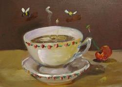 Art: Sugar in my Coffee by Artist Delilah Smith