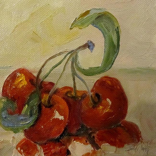 Art: Sour-Cherries.JPG by Artist Delilah Smith