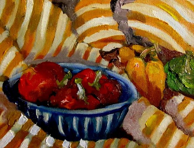 Art: Bowl of Peppers by Artist Delilah Smith