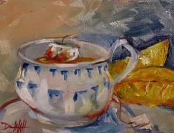 Art: Tea with Lemon-SOLD by Artist Delilah Smith