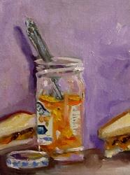 Art: Orange Marmalade-sold by Artist Delilah Smith