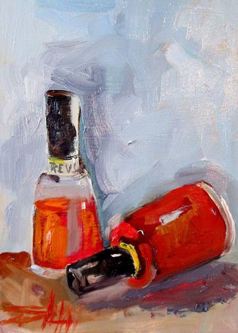 Art: Nail Polish by Artist Delilah Smith