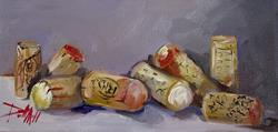 Art: Wine Corks-sold by Artist Delilah Smith