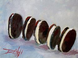 Art: Cookies-sold by Artist Delilah Smith
