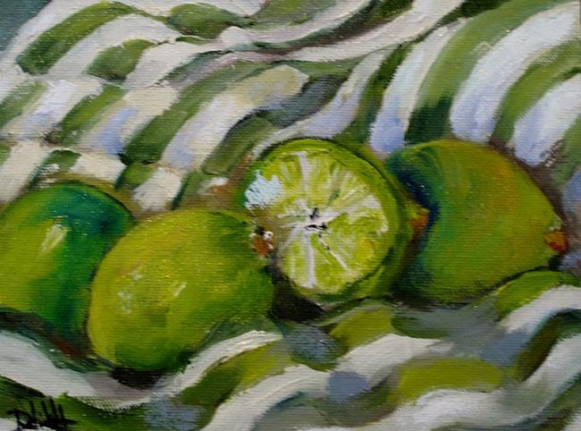Art: Limes and Lines by Artist Delilah Smith