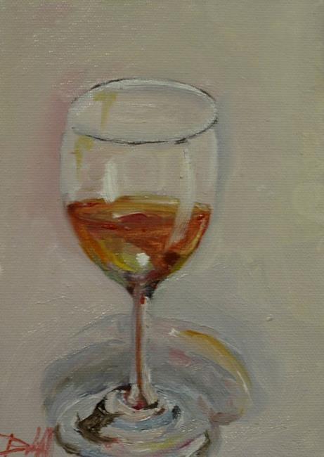 Art: Rose Wine by Artist Delilah Smith