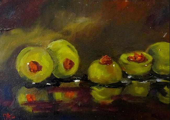 Art: Olives by Artist Delilah Smith