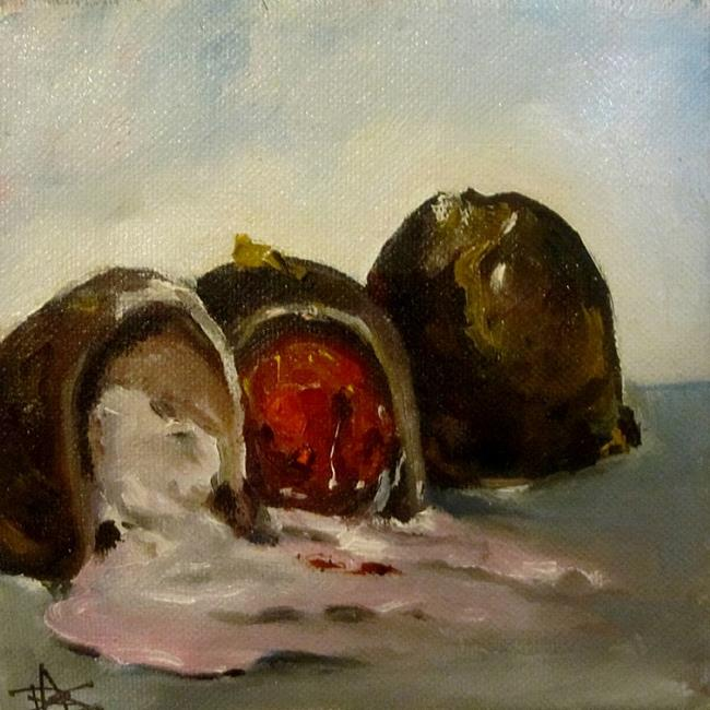 Art: Chocolate Covered Cherries by Artist Delilah Smith