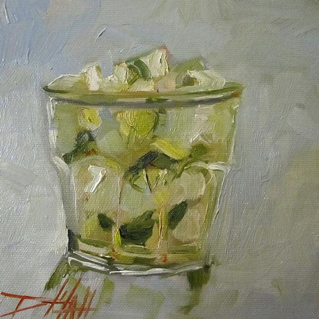 Art: Gin and Tonic by Artist Delilah Smith