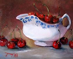 Art: Life is a Bowl of Cherries by Artist Delilah Smith