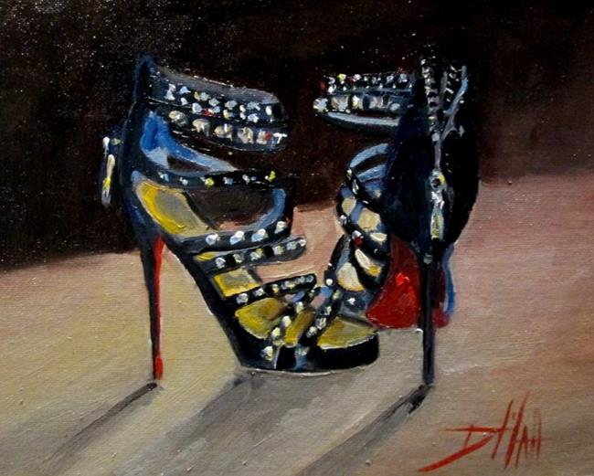 Art: Stepping Out by Artist Delilah Smith