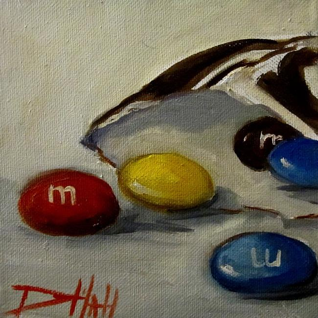 Art: M&M by Artist Delilah Smith