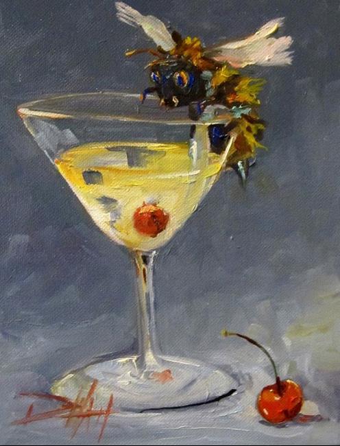 Art: Bee Happy by Artist Delilah Smith