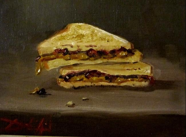 Art: Peanut Butter and Jelly-sold by Artist Delilah Smith