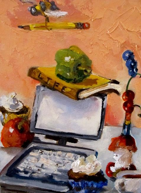 Art: Busy as a Bee by Artist Delilah Smith