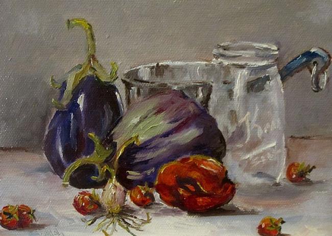 Art: Fruit Jar Still Life by Artist Delilah Smith