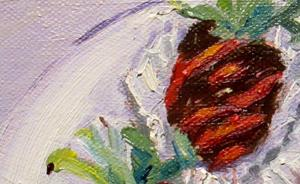 Detail Image for art Strawberries Cover with Chocolate