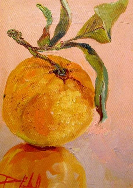 Art: Orange Reflection by Artist Delilah Smith