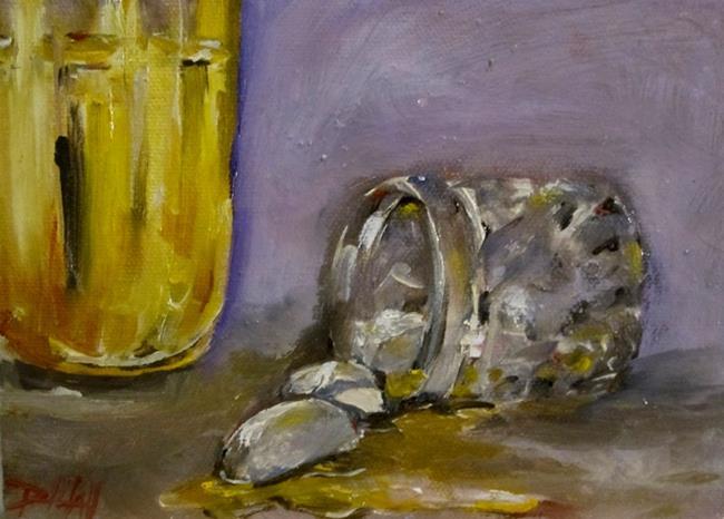 Art: Spilled Drink by Artist Delilah Smith