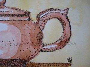 Detail Image for art Teapot Portrait
