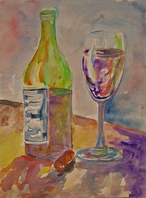 Art: Cheers-sold by Artist Delilah Smith