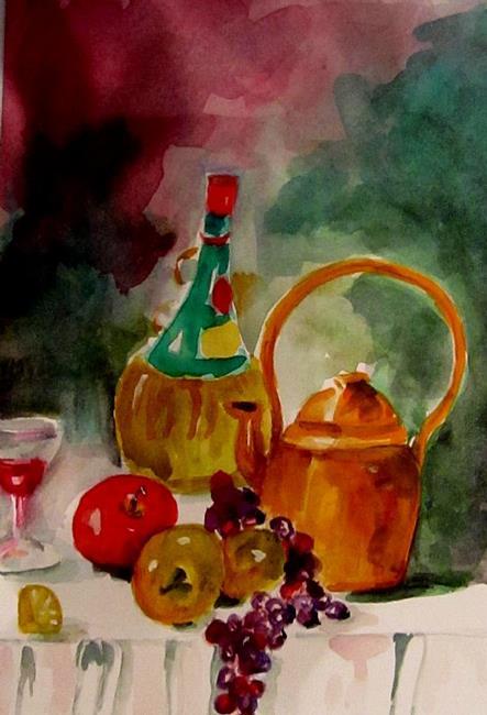 Art: Tuscany Chianti by Artist Delilah Smith