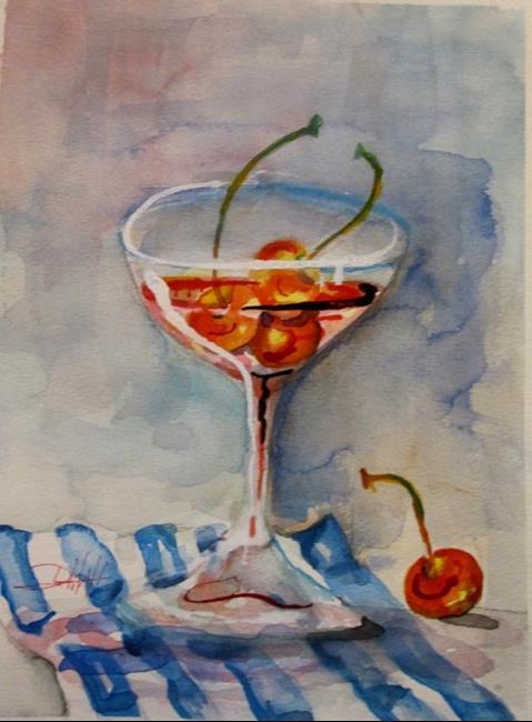 Art: Cherry-Martini by Artist Delilah Smith