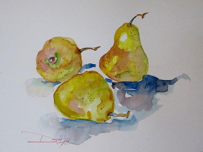 Art: Pears by Artist Delilah Smith