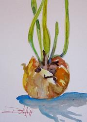 Art: The Onions by Artist Delilah Smith