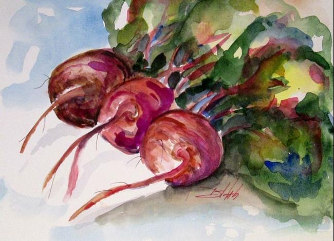 Art: Beets No. 6 by Artist Delilah Smith