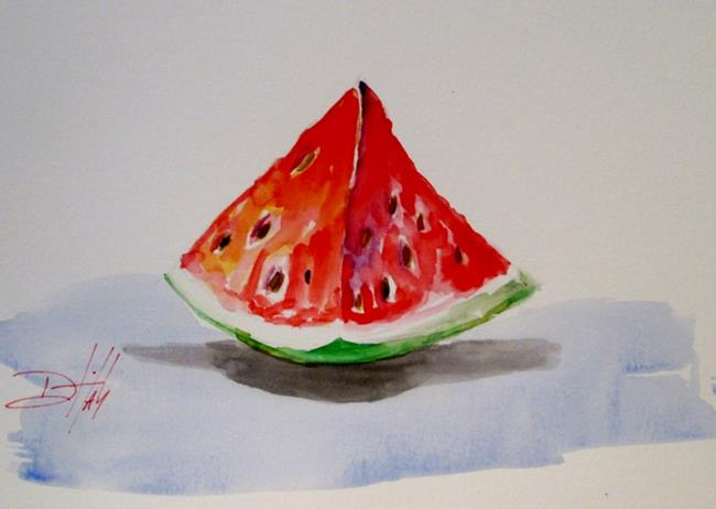 Art: Watermelon by Artist Delilah Smith