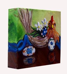Detail Image for art Chicken and Eggs: Polish Pottery XLVb©