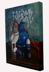 Detail Image for art Chicken: Polish Pottery XLIX